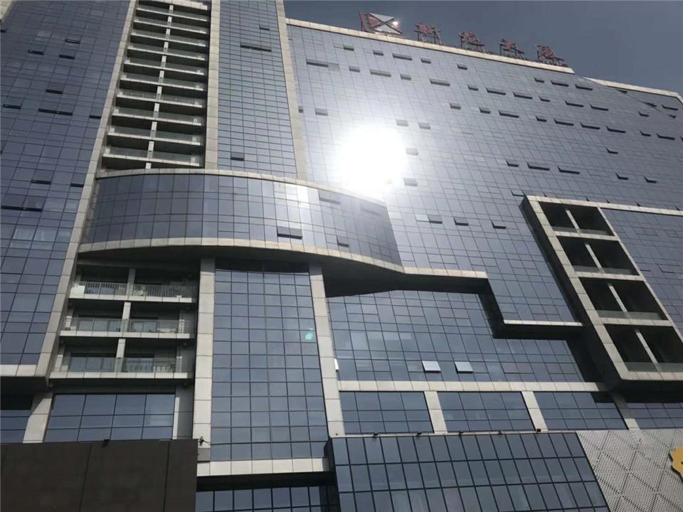 直租新龙大厦精装修办公楼户型方正大落地窗可注册